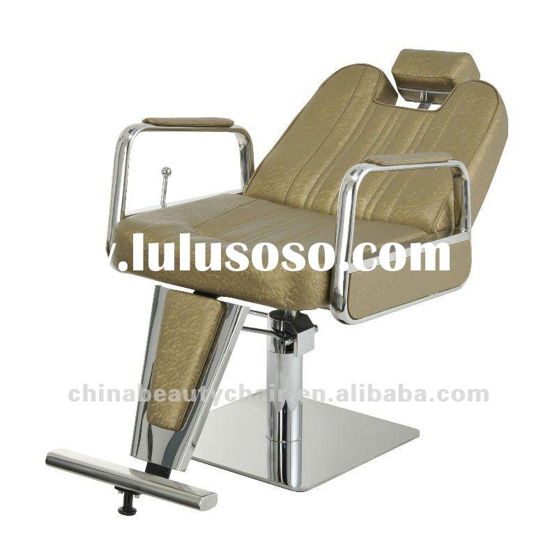Barber chairs for sale with stainless steel footrest