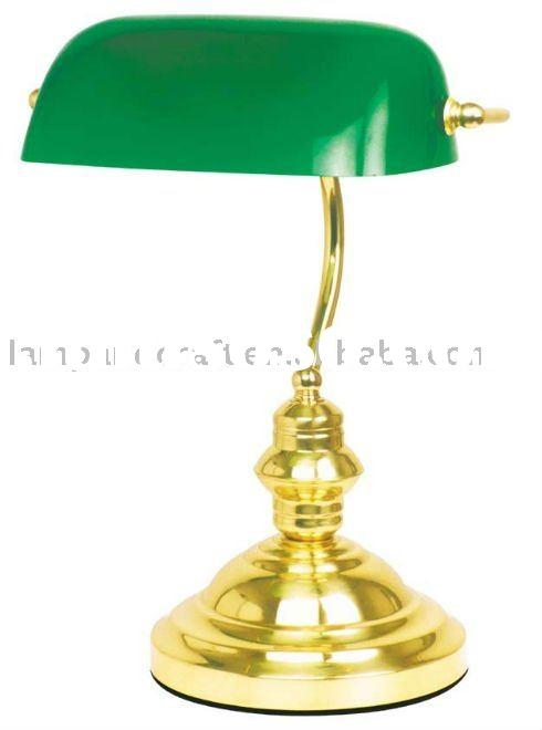 best selling classical antique bank desk lamp moq10pcs accepted for office and bank antique office lamp