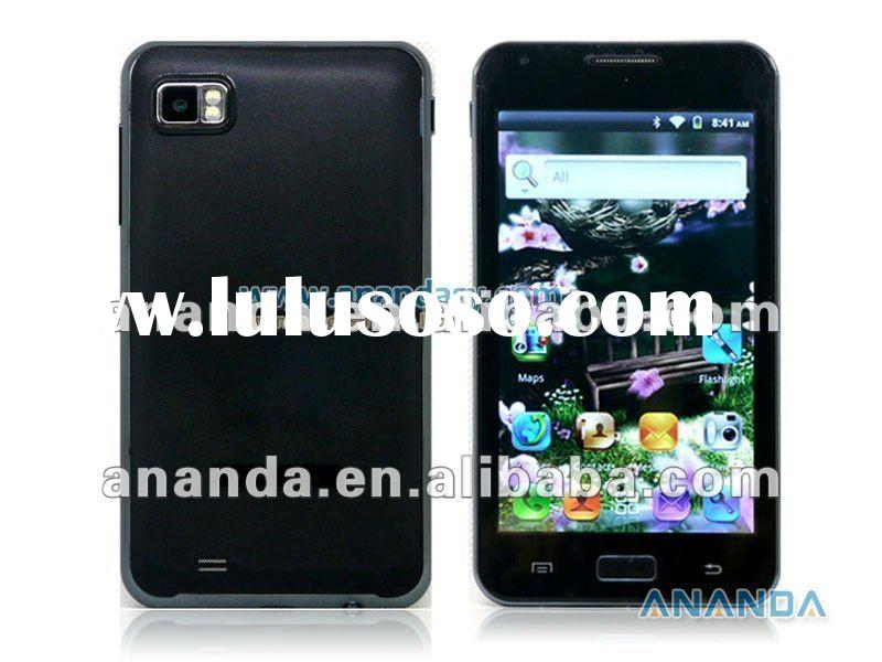 Brand new 5inch Android 4.0 WCDMA/GSM 3G Dual SIM Capacitive touch Mobile Phone I9220
