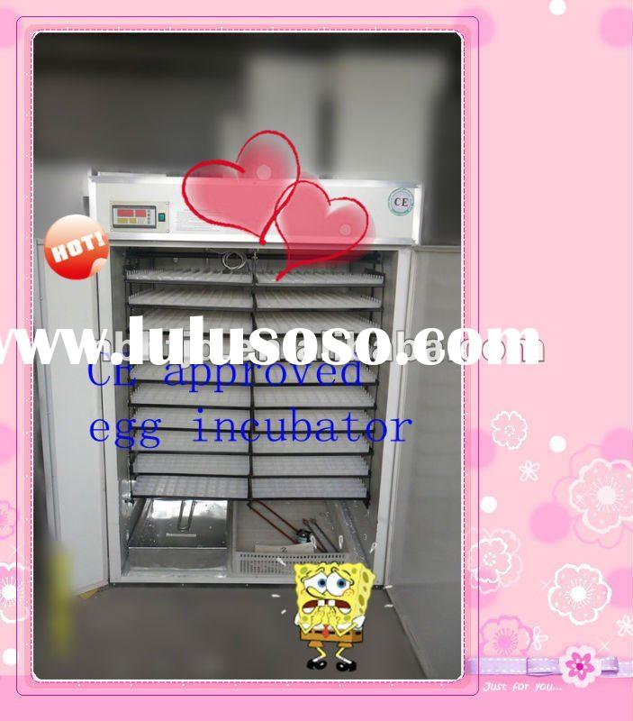 CE certificate fully automatic chicken egg incubator, reptile egg incubator,industrial egg incubator