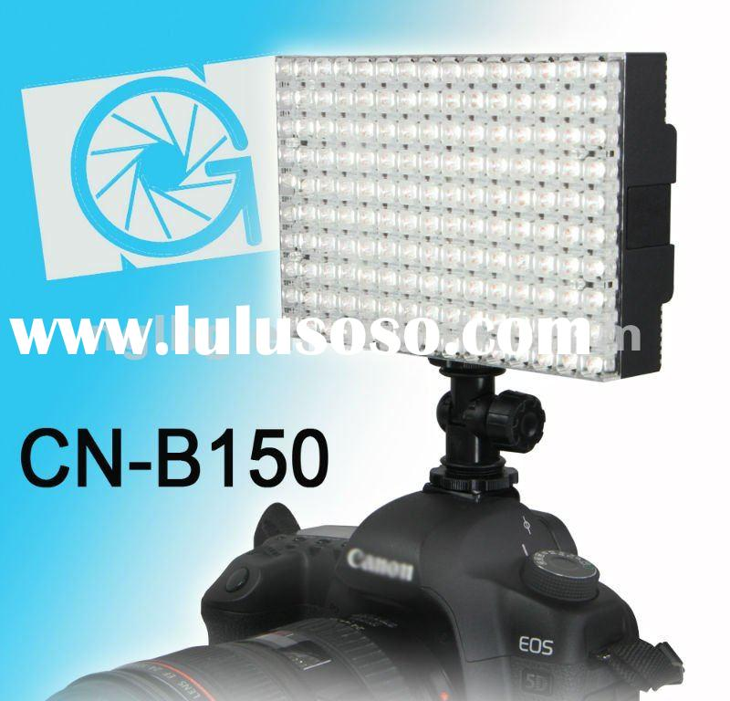 CN-B150 LED on camera video light photo light for dslr Canon 5D 7D 60D 600D