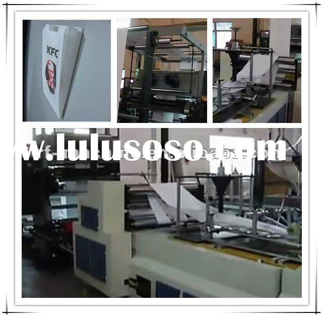 C-Paper Bag Making Machine with two color printing unit