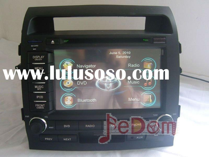 Car DVD GPS for Toyota Land Cruiser 200/LC V8+Touch Screen+Bluetooth+map+MP3/MP4+iPod connection+fre