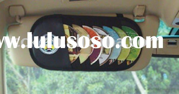 Car Visor CD Holder