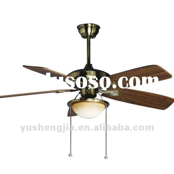 Ceiling fan 220V,electric motor cooling fan blade with one light