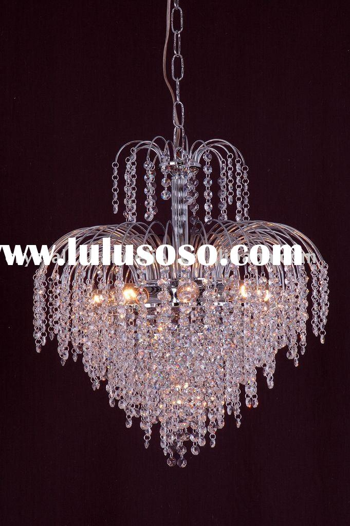 Cheap contemporary crystal chandeliers,pendant lamp with high quality Chinese crystal