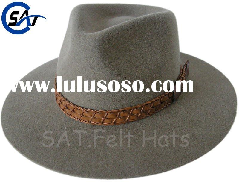 Indiana Jones Crushable Wool Fedora Hat Fedora Hat Indiana Jones