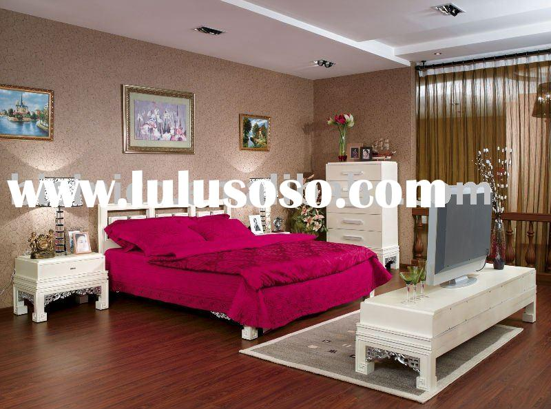 Classical style bedroom set,bed,side table,chest,TV cabinet,bedroom furniture