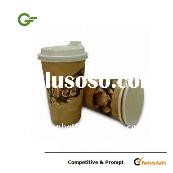 Coffee paper cup raw material with lid option