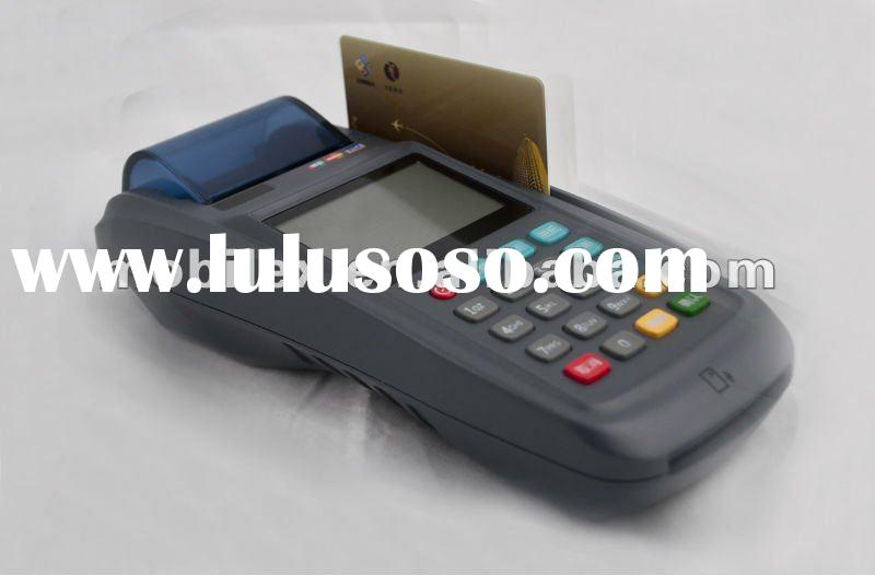 Customized wireless handheld Linux EFT POS credit card payment terminal with CDMA (MX3100)