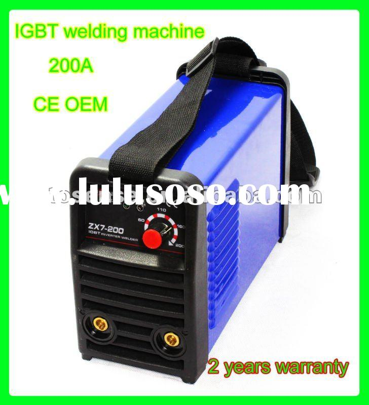 DC inverter MMA ARC IGBT welding machine small size and 4.7kgs free shipping