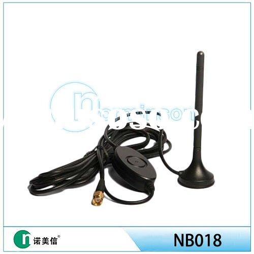 DVB-T vhf uhf antenna DTV digtal TV Magnetic Base Antenna active amplifier antenna