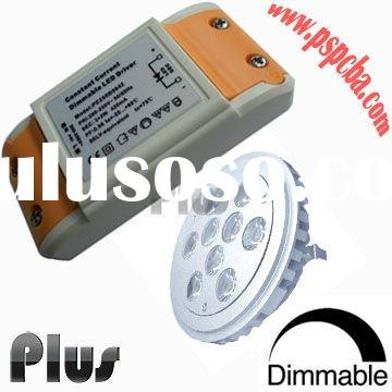 Dimmable led driver for dmx rgb led downlight (CE, ROHS, FCC approved)
