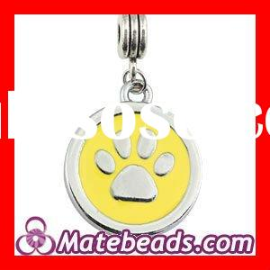 Dog Jewelry, Wholesale Enamel Dog Paw Charms