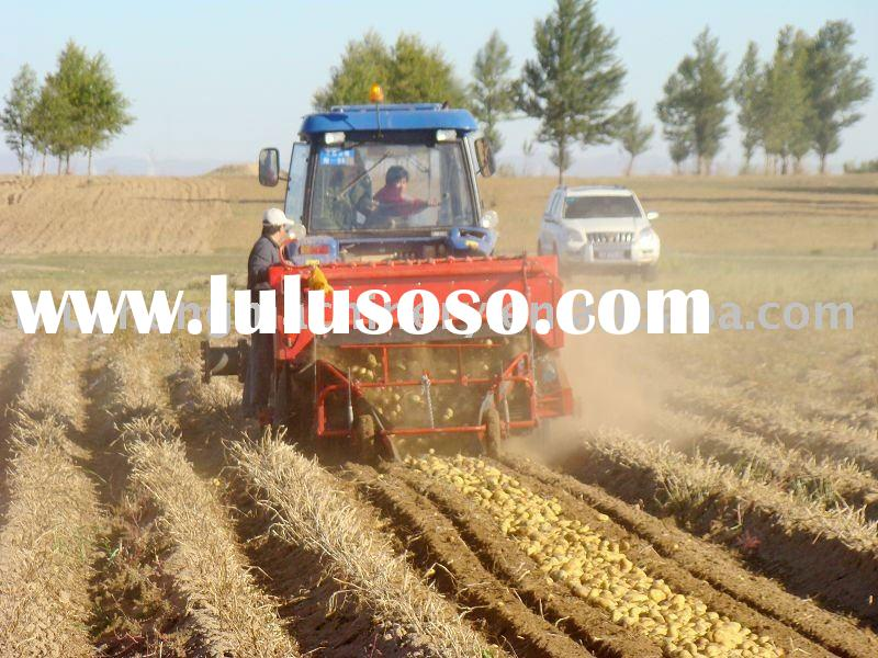 Easy operate and low loss rate onion and garlic harvester
