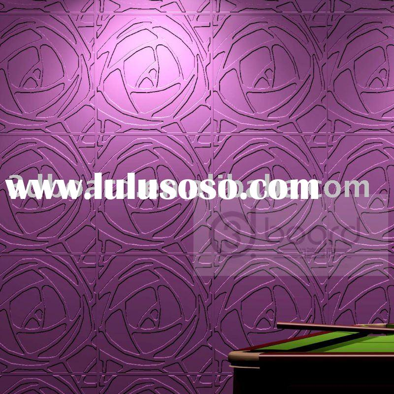 Eco-friendly ,3d wall decorative panel