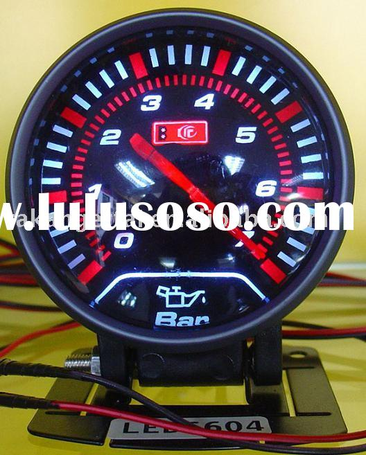 Extra-Thin LED Auto Oil Pressure Gauge(LED6604)