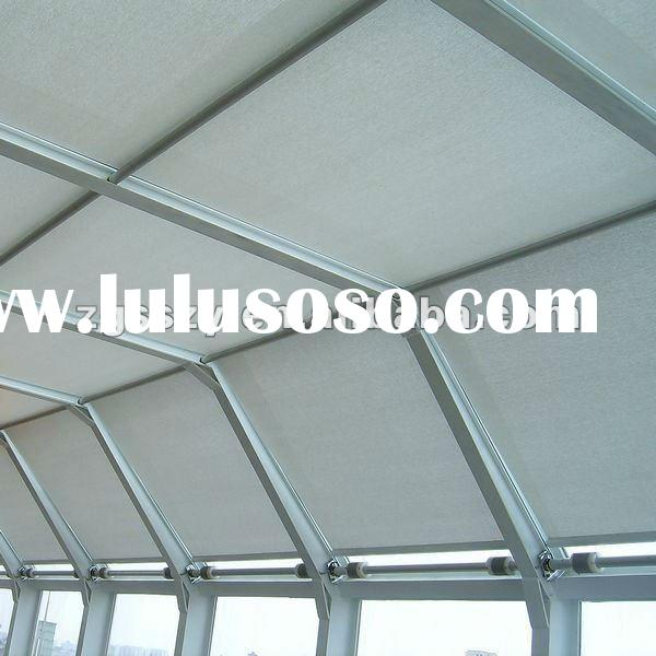 FTS Scroll Roof Blinds/roller blinds/Window Shade/Roof Skylight/Outdoor Roller Blinds