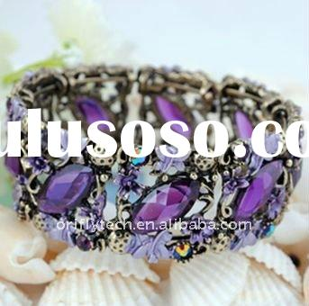 Fashion alloy beads bracelet bangle jewelry