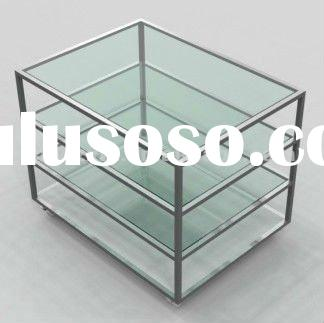Fashion glass display cabinet for sale