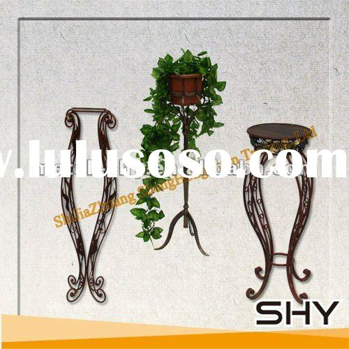 Flower Rack Of Wrought Iron Furniture