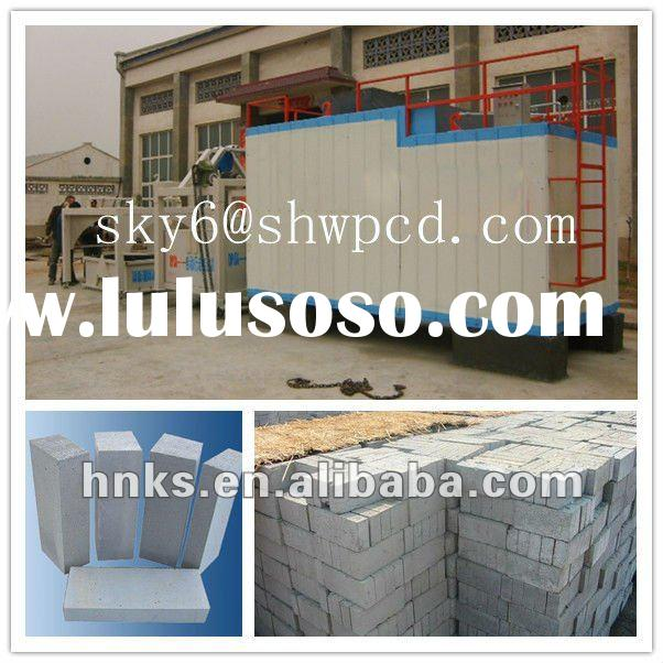 Foam concrete block production line/Cement foamed brick making machine/Foamed concrete block machine