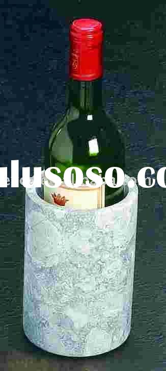 Fossil Marble Wine Cooler/Deluxe Tool Holder