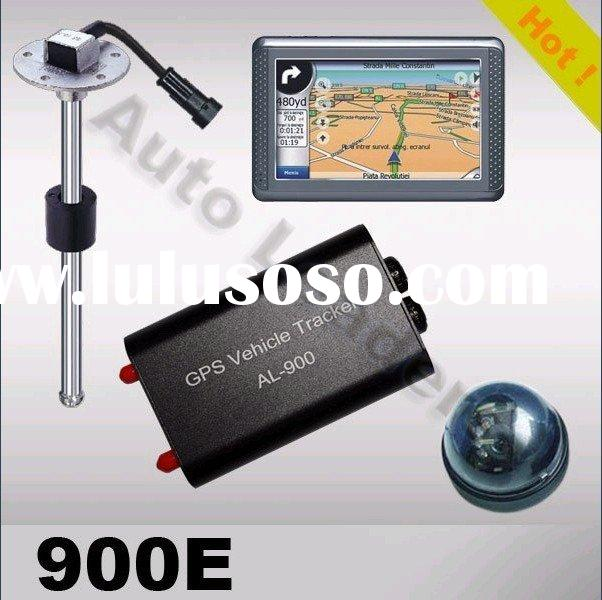 GPS Vehicle Tracker with Digital Camera, TFT Touch Screen, Door Sensor and Fuel Sensor. Support with