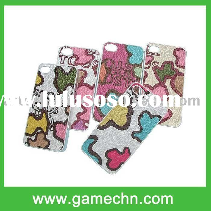 Genuine Leather Magnetic Belt Cover/Case Protection for the Apple iPhone4G