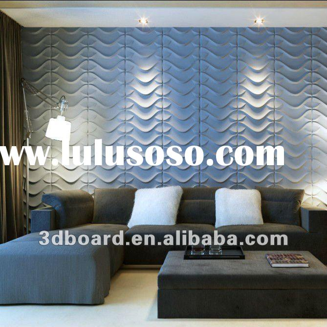 High tech 3d decorative wall panel, 3d board