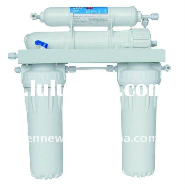 Household Pre-Filtration, Reverse Osmosis, 4 stage water filter system