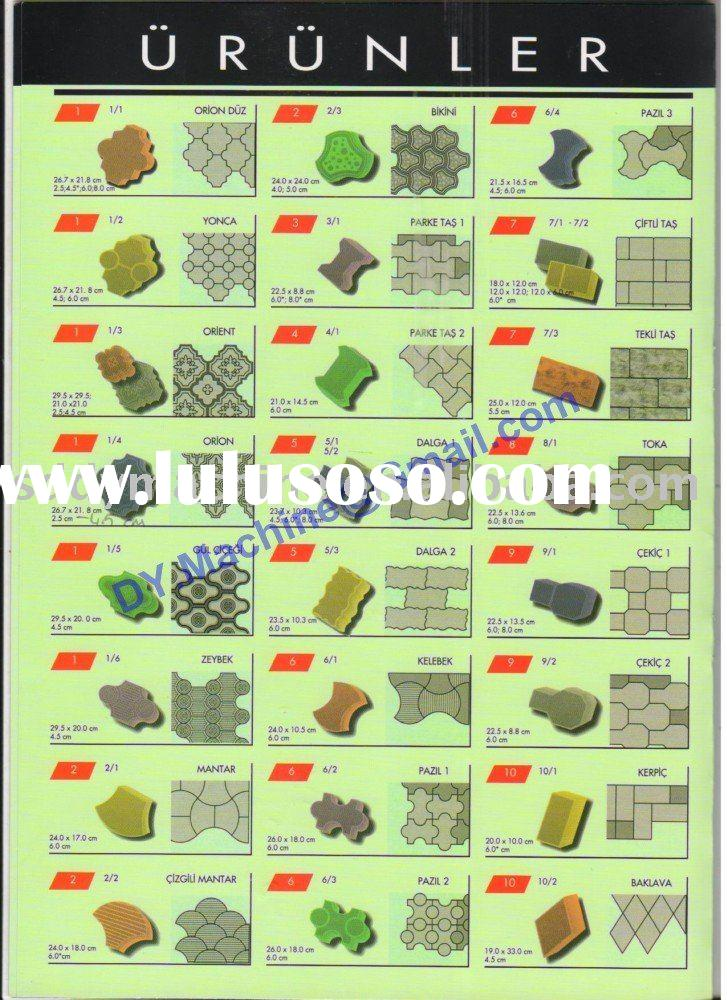 Hydraulic paver making machine paving brick Paving block machine paver stone machine DY150T