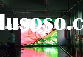 Indoor LED 3d advertising screen