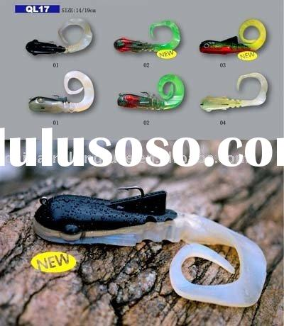 Jigging Swimbait,Weighted Swimbait,Lead in soft bait
