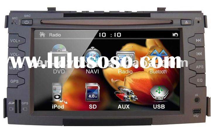 KIA SOUL 6.2 inch touch screen double din car gps tracker dvd player with Digital TV