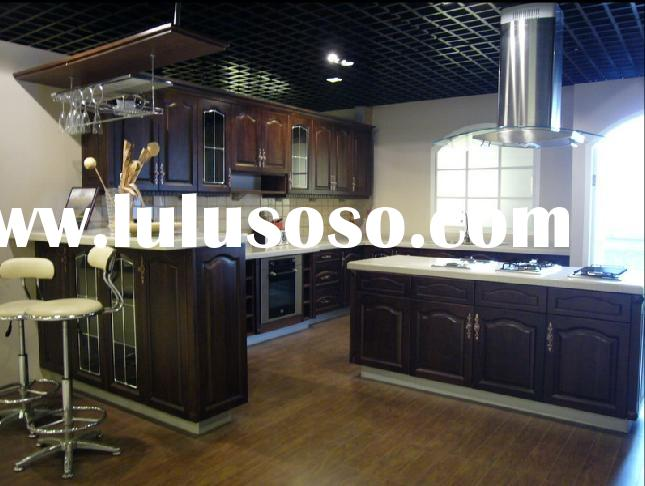 Kitchen Cabinets (Solid Cherry Wood Kitchen Cabinets)