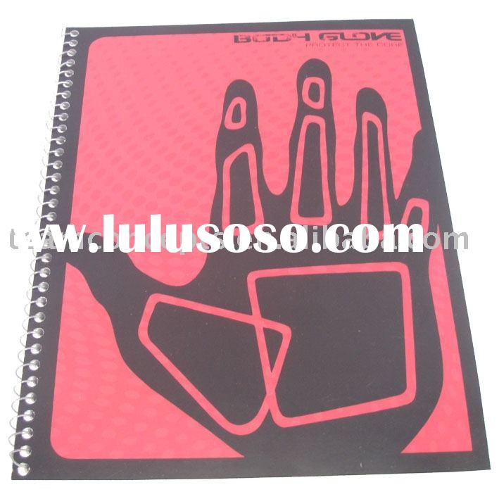 Lamination eco-friendly Spiral Notebook