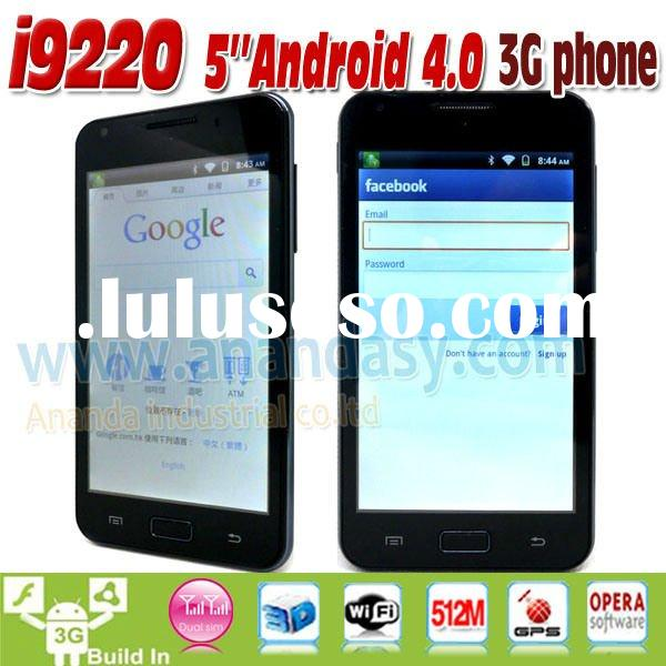 Latest Phone Cell Phone Android 4.0 5 inch capacitive touch screen