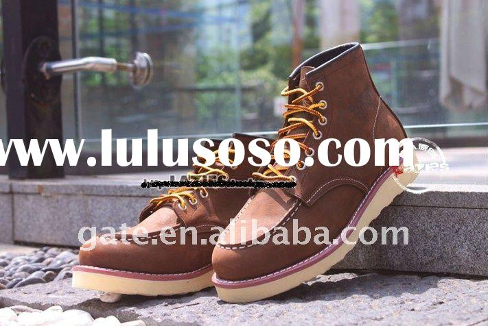 Leisure outdoor male boots ep-red wing red wings of 8875 foreign trade kimura classic head layer cow