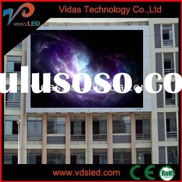 Light weight mobile rental led display for advertising