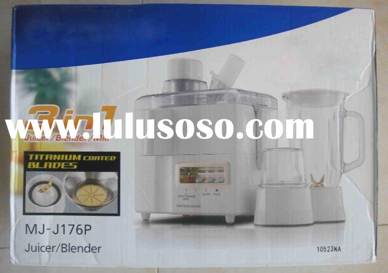 MJ-J176P multifunction electric food processor 3 in 1 juicer blender mill