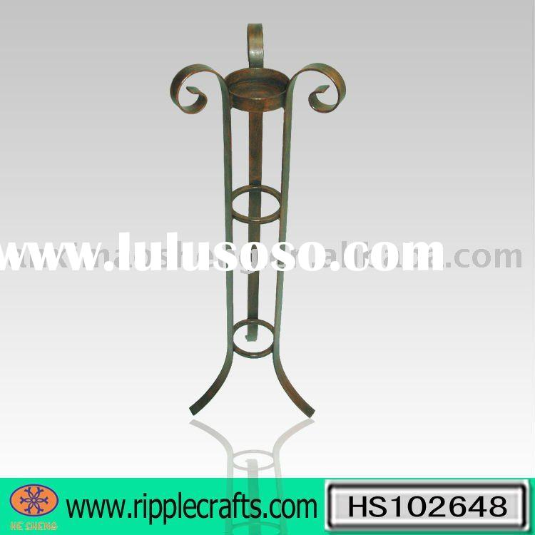 Metal Floor Standing Candle Holder