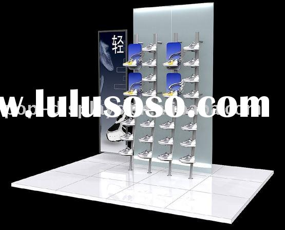 Metal Shoe Store Display Rack