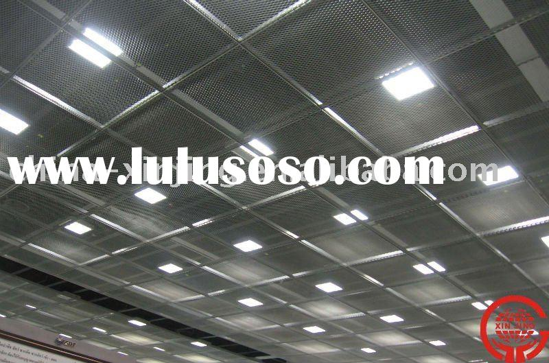 Metal mesh suspended ceiling panel/Stretch decoractive tiles