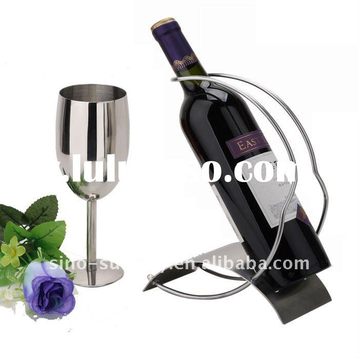 Metal wine Bottle rack from manufacturer with competitive price