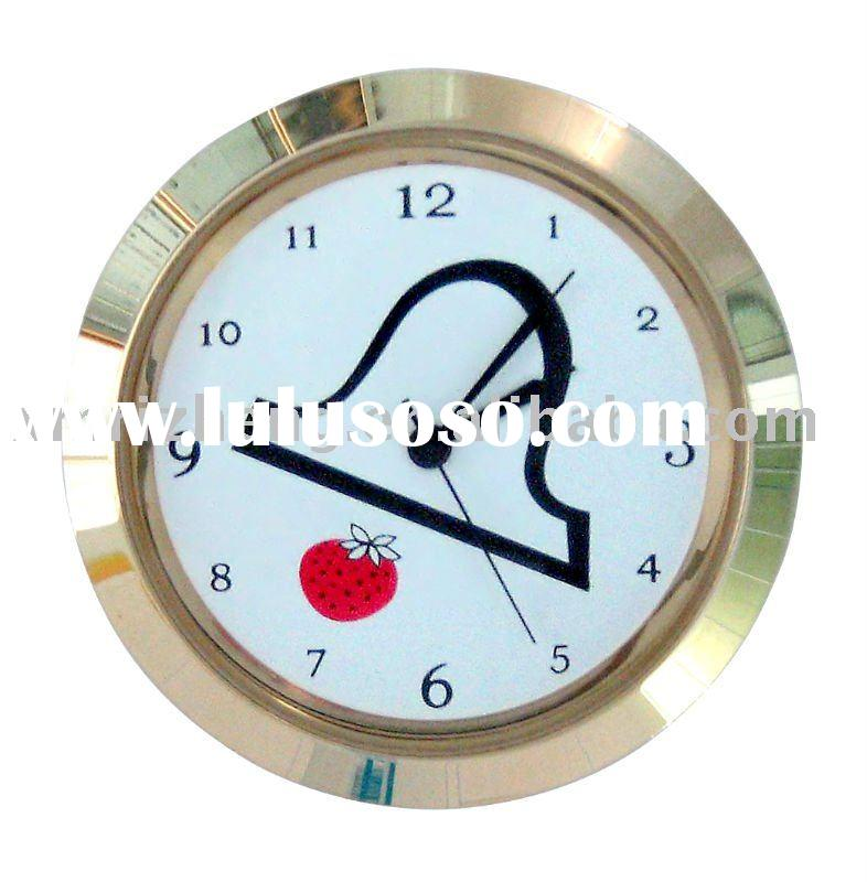 Mini Clock inserts/clock fit-ups/Gold plating RZCK055-GA