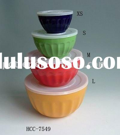 Multi Colored mixing bowls/storage bowls