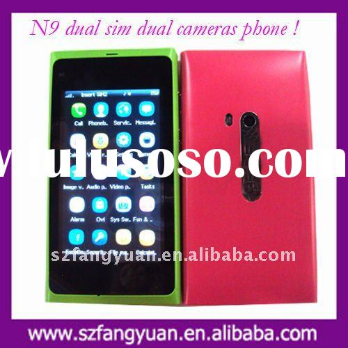 N9 mobile phone with dual sim dual cameras cell phone
