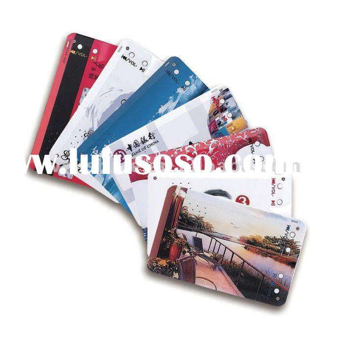 Name Card Wallet MP3 player Credit Card MP3 player