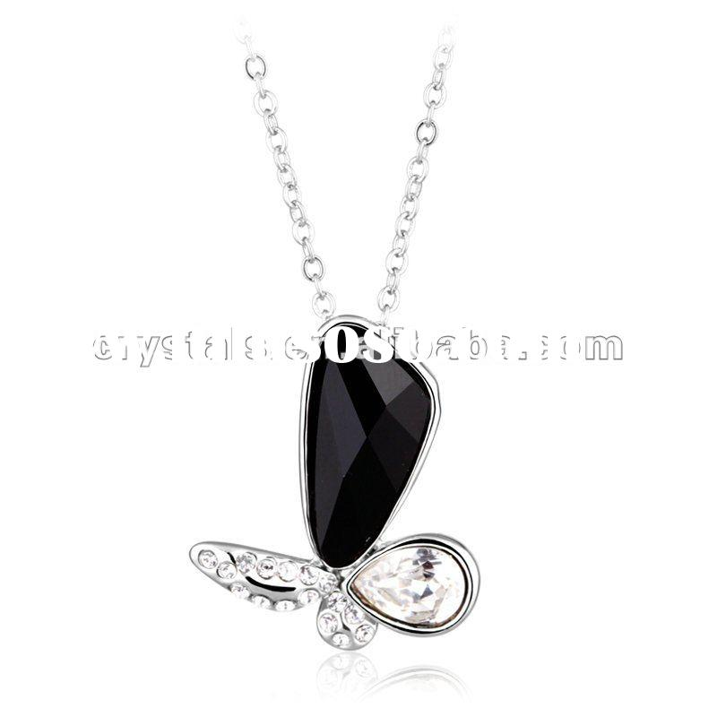 Necklace made with swarovski element, fashion butterfly Jewelry with good price
